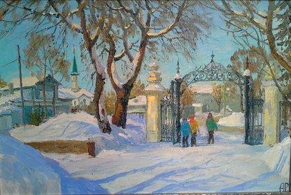 В парке им. С. Юлаева.
