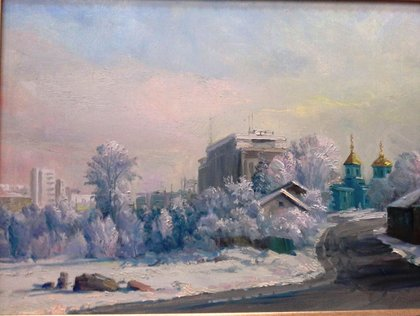 Уфа зимой.