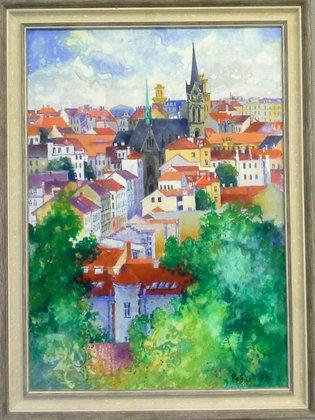 Прага. Витков парк